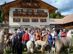 Course weekend about llama and alpaca May 14